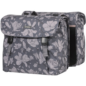 Basil Magnolia Alforja Doble 35l, blackberry